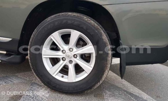 Acheter Importé Voiture Toyota Highlander Vert à Import - Dubai, Barh el Gazel