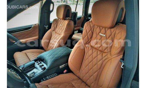 Acheter Importé Voiture Lexus LX Noir à Import - Dubai, Barh el Gazel