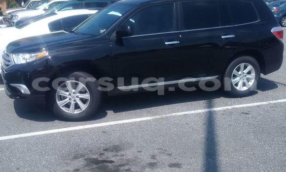 Acheter Occasion Voiture Toyota Highlander Noir à N'Djamena au Tchad