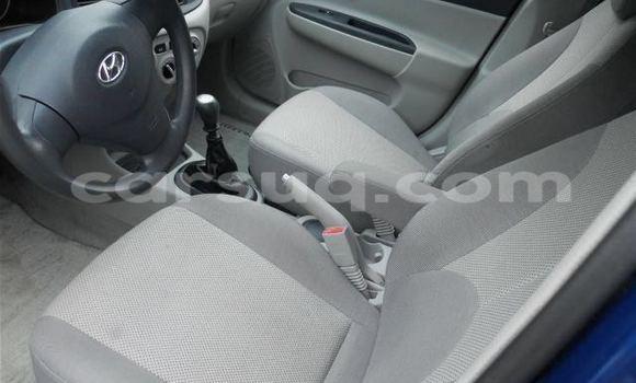 Acheter Occasion Voiture Hyundai Accent Bleu à N'Djamena au Tchad