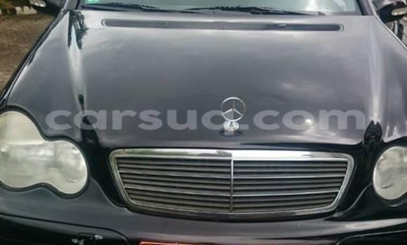 Acheter Occasion Voiture Mercedes‒Benz KOMPRESSOR Noir à N'Djamena au Tchad
