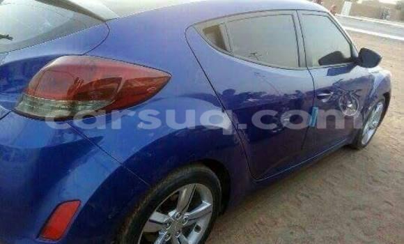 Acheter Occasion Voiture Hyundai Veloster Bleu à N'Djamena au Tchad