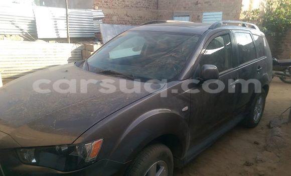 Acheter Occasion Voiture Mitsubishi Outlander Noir à N'Djamena au Tchad