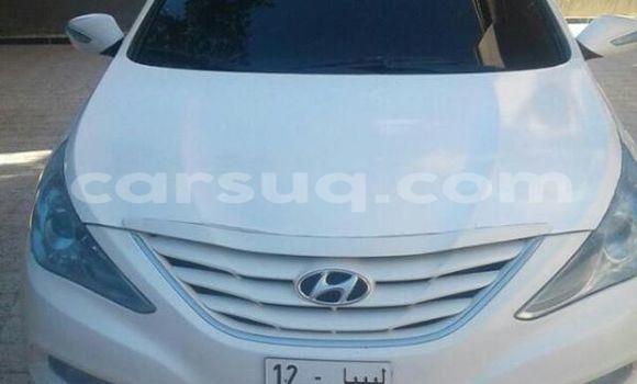 Acheter Occasion Voiture Hyundai Sonata Blanc à N'Djamena au Tchad