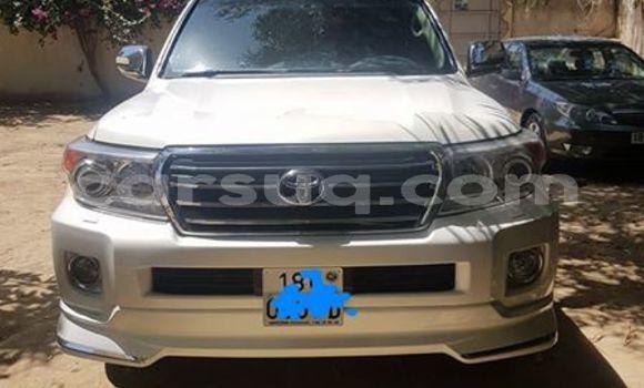 Sayi Na hannu Toyota Land Cruiser White Mota in N'Djamena a Chadi