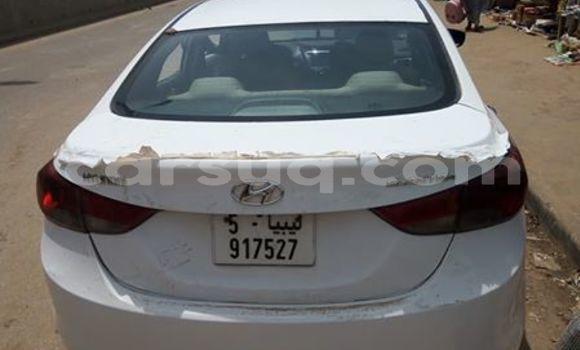 Acheter Occasion Voiture Hyundai Elantra Blanc à N'Djamena au Tchad