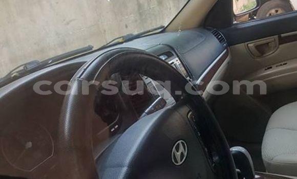Acheter Occasion Voiture Hyundai Santa Fe Rouge à N'Djamena au Tchad