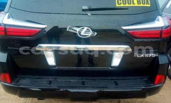 Acheter Occasion Voiture Lexus LX Noir à N'Djamena au Tchad