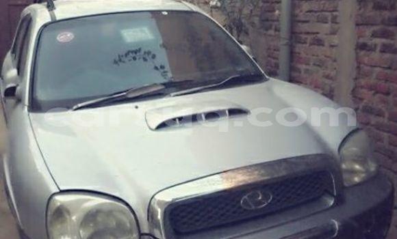 Sayi Na hannu Hyundai Santa Fe Azurfa Mota in N'Djamena a Chadi