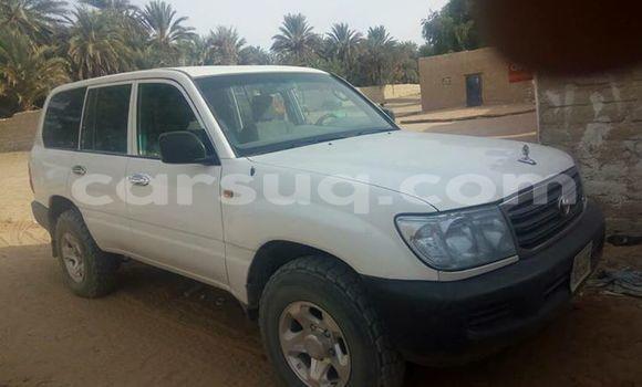 Acheter Occasion Voiture Toyota Land Cruiser Blanc à Moundou au Tchad