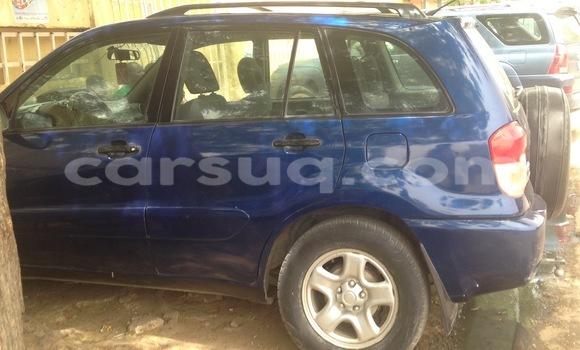 Acheter Occasion Voiture Toyota RAV4 Bleu à N'Djamena au Tchad