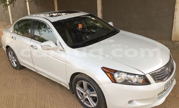 Buy Used Honda Accord White Car in Abeche in Ouaddai Region